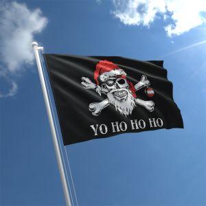 Christmas Pirate Flag