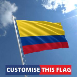 Custom Colombia Flag