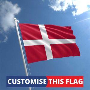 Custom Denmark Flag
