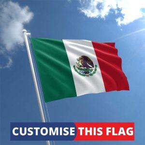 Custom Mexico Flag