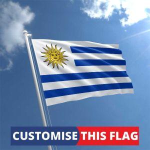 Custom Uruguay Flag