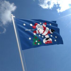 Christmas Ho Ho Ho Flag