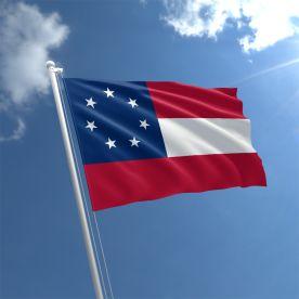 1st Stars And Bars Flag