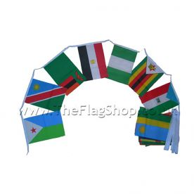 African Nations Flag Bunting
