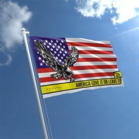 America Love It Or Leave It Flag