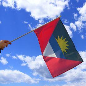 Antigua & Barbuda Hand Waving Flag
