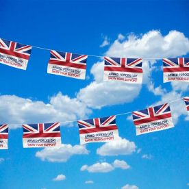 Armed Forces Day Flag Bunting
