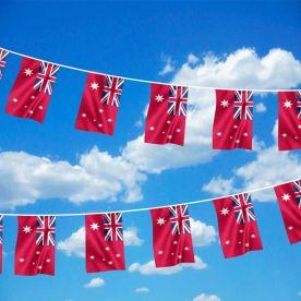 Australian Red Ensign Bunting