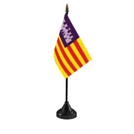 Balearic Islands Table Flag