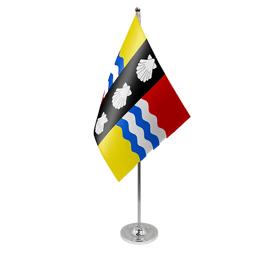 Bedfordshire table flag satin