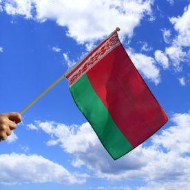Belarus Hand Waving Flag