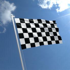 Black & White Chequered Flag
