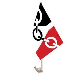Black Country Car Flag