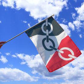 Black Country Hand Waving Flag