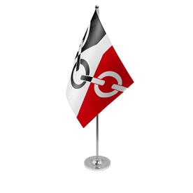 Black Country table flag satin