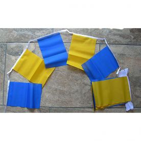 Blue & Yellow Bunting