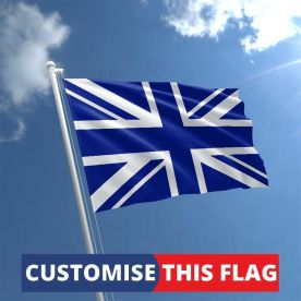 Custom Royal Blue Union Jack Flag