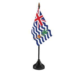 British Indian Ocean Territories Table Flag