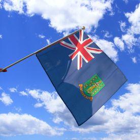British Virgin Islands Hand Waving Flag