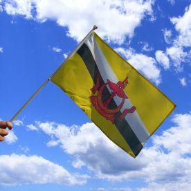Brunei Hand Waving Flag