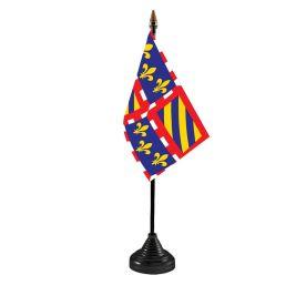 Burgundy Table Flag