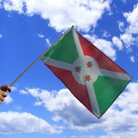 Burundi Hand Waving Flag