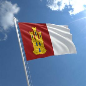 Castile La Mancha flag