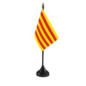 Catalonia Table Flag