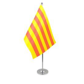 Catalonia table flag satin