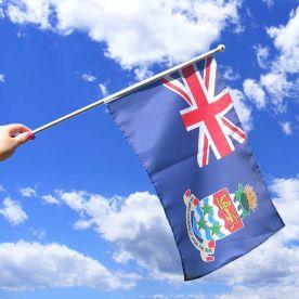 Cayman Islands Hand Waving Flag