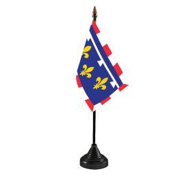 Centre Val De Loire Table Flag