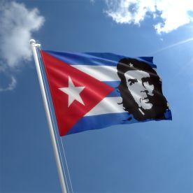 Che Guevara Cuba Flag