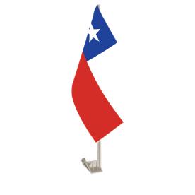 Chile Car Flag