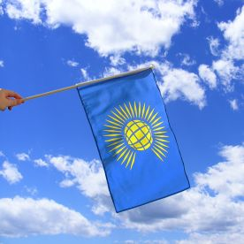 Commonwealth Hand Waving Flag