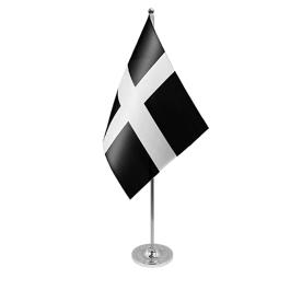 Cornwall table flag satin