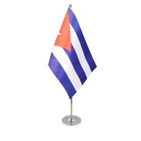 Cuba table flag satin