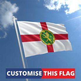 Custom Alderney Flag