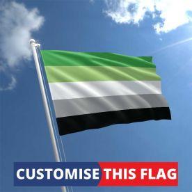 Custom Aromantic Flag