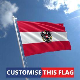 Custom Austria Eagle Flag
