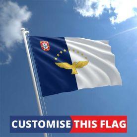 Custom Azores Flag