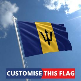Custom Barbados Flag