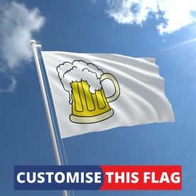Custom Beer Flag