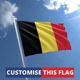 Custom Belgium Flag