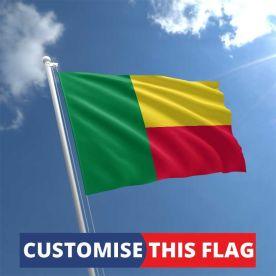 Custom Benin Flag