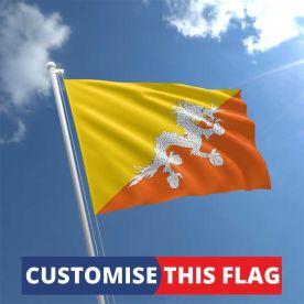 Custom Bhutan Flag