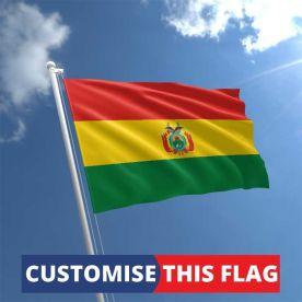 Custom Bolivia Flag