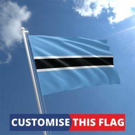 Custom Botswana Flag