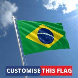 Custom Brazil Flag