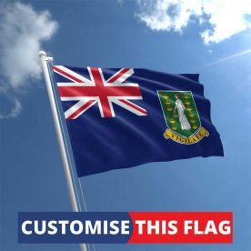 Custom British Virgin Islands Flag