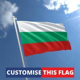 Custom Bulgaria Flag